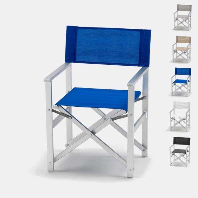 Beach And Garden Design - Chaise transat style réalisateur de plag
