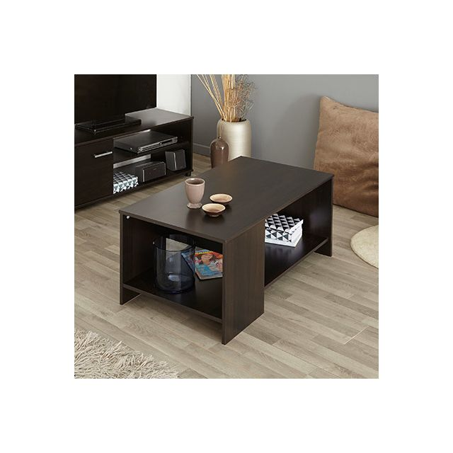 Table basse 1 niche - café