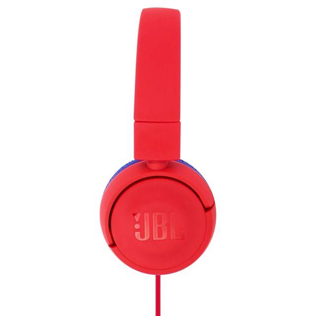 casque filaire jbl rouge
