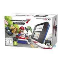 Nintendo - 2DS Bleue + Mario Kart 7 Préinstallé