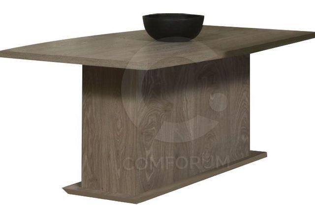 Comforium Table fixe de salle à manger 200 cm coloris memphis oak