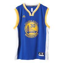 Adidas performance - Golden State Warriors Curry Bleu Maillot Club Nba Homme Basketball