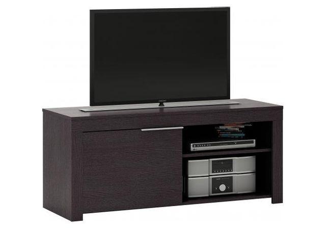 comment cacher les cables declikdeco avec le meuble tv noir lorenz vous nuaurez plus besoin de. Black Bedroom Furniture Sets. Home Design Ideas