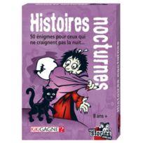 Ki Ki Gagne - Jeux de société - Black Stories Junior : Histoires Nocturnes