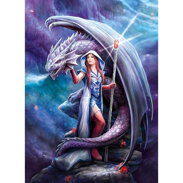 Puzzle Adulte : Dragon Mage Anne Stokes 1000 Pieces
