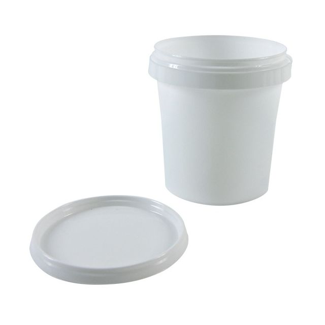 Cis Lot de 10 pots + couvercles de conservation Pp 365ml diam.95