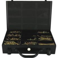 VYNEX PRO SA - Mallette de 1350 Vis ROCKET VYNEX Tête Fraisée Etoile ABI + 3 Embouts inclus - 3514000931013
