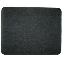 Red Sign - 1 tapis moquette 50x40cm. Gris