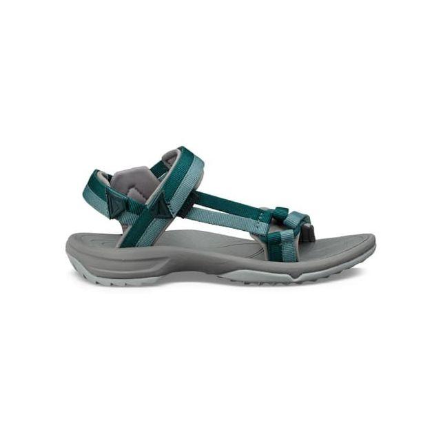 teva sandales terra fi lite bleu gris femme pas cher achat vente sandales de marche. Black Bedroom Furniture Sets. Home Design Ideas