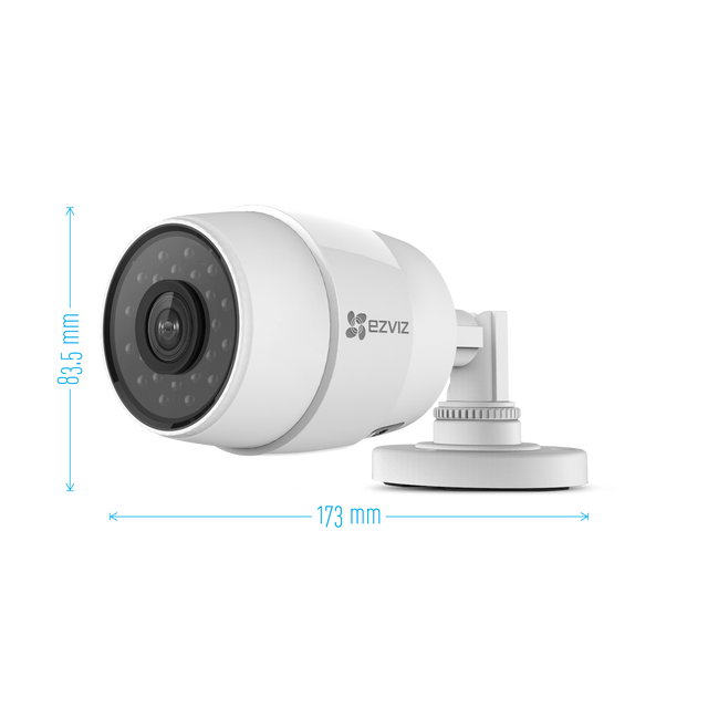 ezviz c3 c cam ra de surveillance ext rieur hd 720p 1280x720 ip wifi grand angle de vue 2. Black Bedroom Furniture Sets. Home Design Ideas