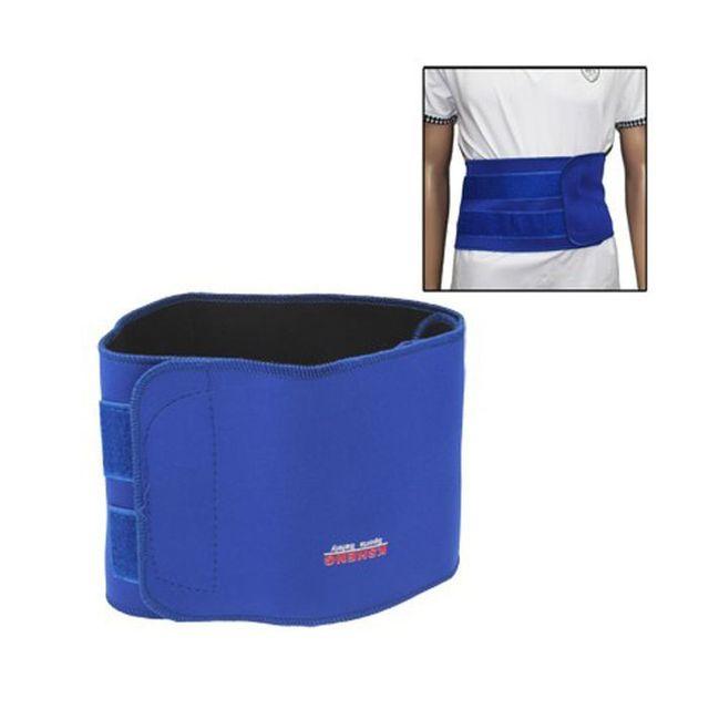 a4e0363e325 Yonis - Ceinture minceur élastique gaine sudation maintien de taille bleu  - pas cher Achat   Vente Appareil de massage électrique - RueDuCommerce