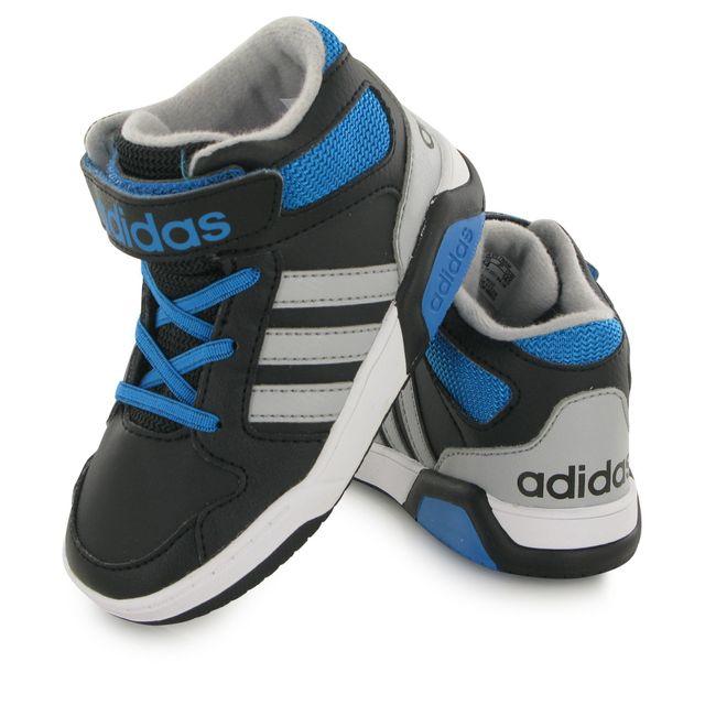 Adidas Neo Bb9tis noir, baskets mode mixte pas cher