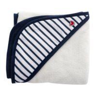 Btl Babytolove - Serviette Papillon Blue Stripes - Baby To Love