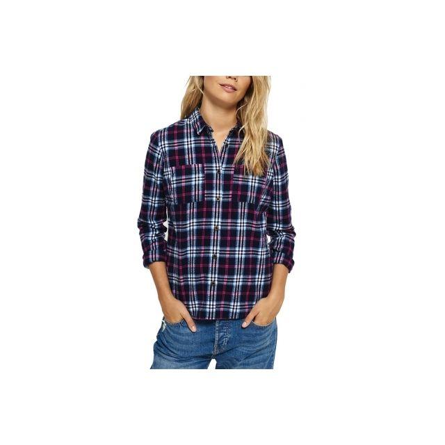 superdry lumberjack shirt femme