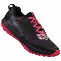 Hoka One One - Speed Instinct 2 Noire Et Rose Chaussures de trail