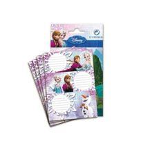 Frozen - Lot de 12 étiquettes La reine des neiges