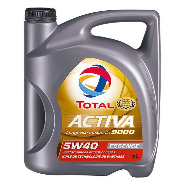 total huile moteur 5w40 activa 9000 5l achat vente huiles moteurs 4t pas cher rueducommerce. Black Bedroom Furniture Sets. Home Design Ideas