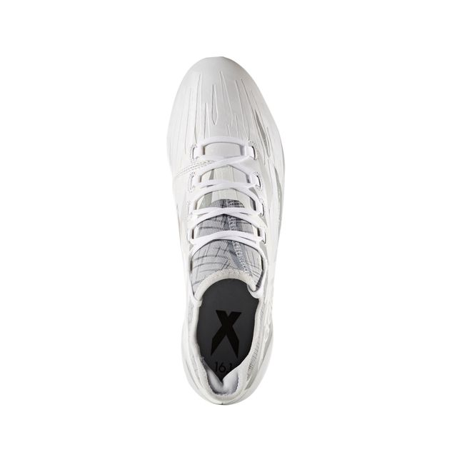 Adidas performance - Chaussures football Adidas X 16.1 Fg Blanc/gris