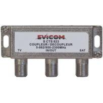 Evicom - coupleur tv/satellite version intérieure