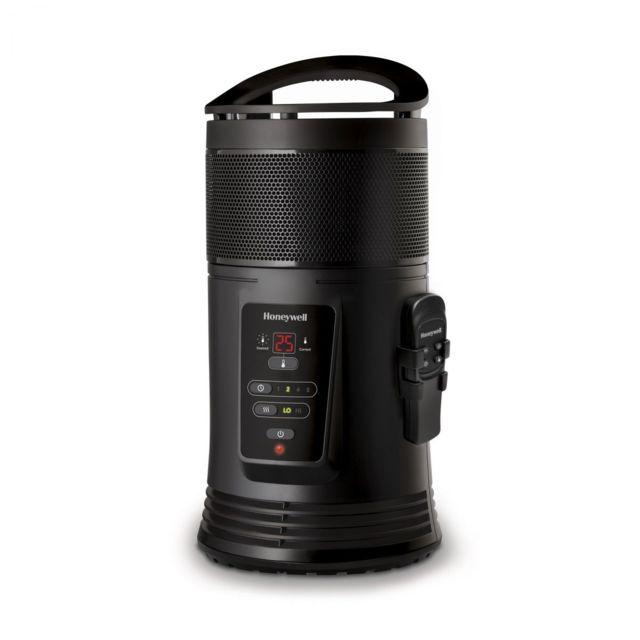 honeywell radiateur soufflant c ramique noir 1800w chauffage d 39 appoint lectrique 360 pas. Black Bedroom Furniture Sets. Home Design Ideas