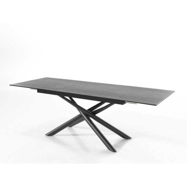 Meubles Europeens Table céramique rectangulaire