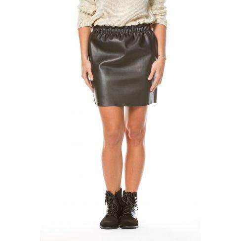 862afefa26215 Princesse Boutique - Jupe Noire simili cuir - pas cher Achat / Vente ...