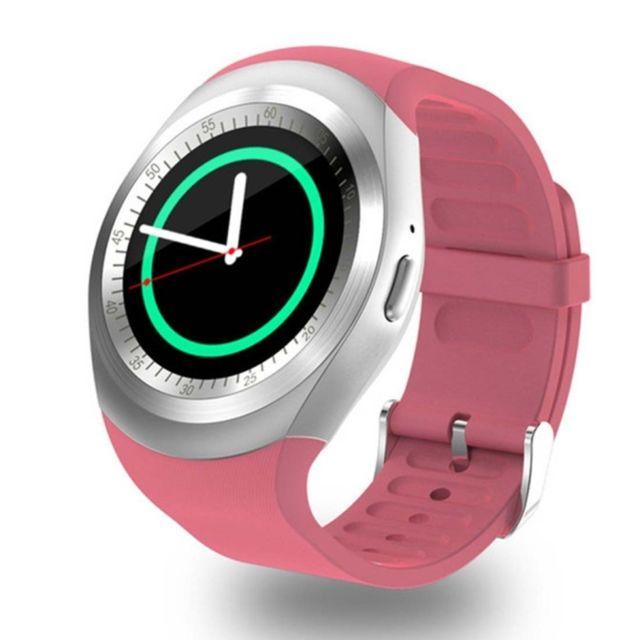 wewoo montre connect e round nano carte sim fitness tracker smartband smart watch avec. Black Bedroom Furniture Sets. Home Design Ideas
