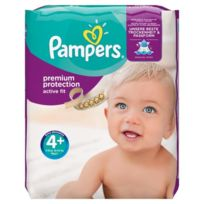 Pampers - Active Fit Taille 4+ 9 a 18kg 140 couches