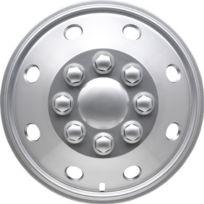 """Autostyle - Kt-231-15S/L Utah Enjoliveur Argenté/laqué 15"""", 4 pièces"""