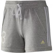 Adidas originals - Sp 3S Col Short W Gri - Short Entrainement Femme Adidas