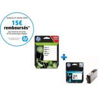 HP - Pack 364 Multipack C,M,J,N + Cartouche noire