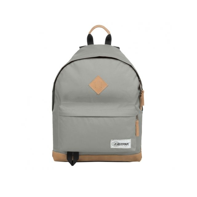 Gris Eastpak Cuir Clair Sac Marron Avec En Wyoming À Finitions Dos otQrsxBhdC