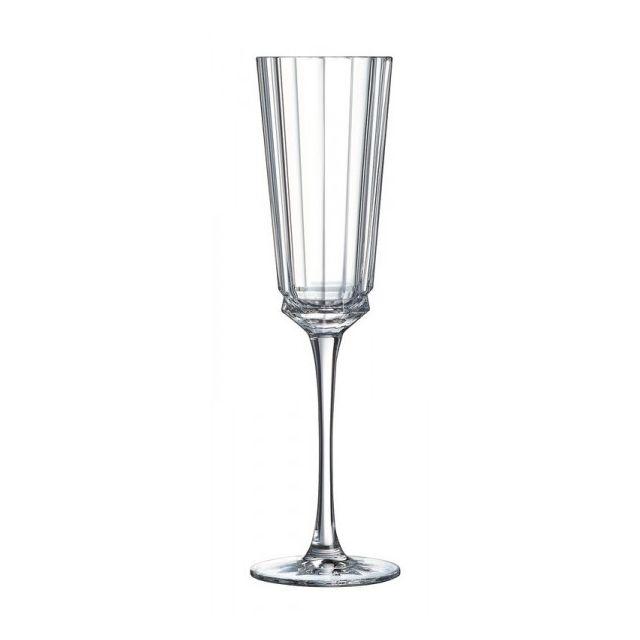 cristal d 39 arques lot de 6 fl tes macassar pas cher achat vente flute champagne. Black Bedroom Furniture Sets. Home Design Ideas
