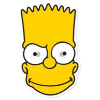 Aptafetes - Masque Bart Simpson