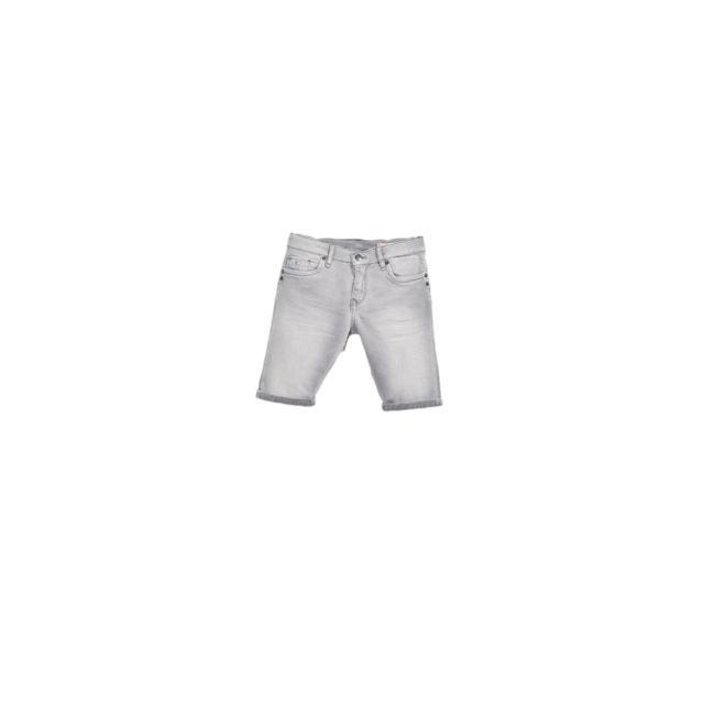 Kaporal Short en jeans Garçon Volt Gris Taille 12 Ans