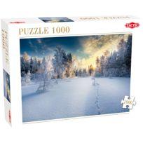 Tactic - Puzzle 1000 pièces : Paysage d'hiver