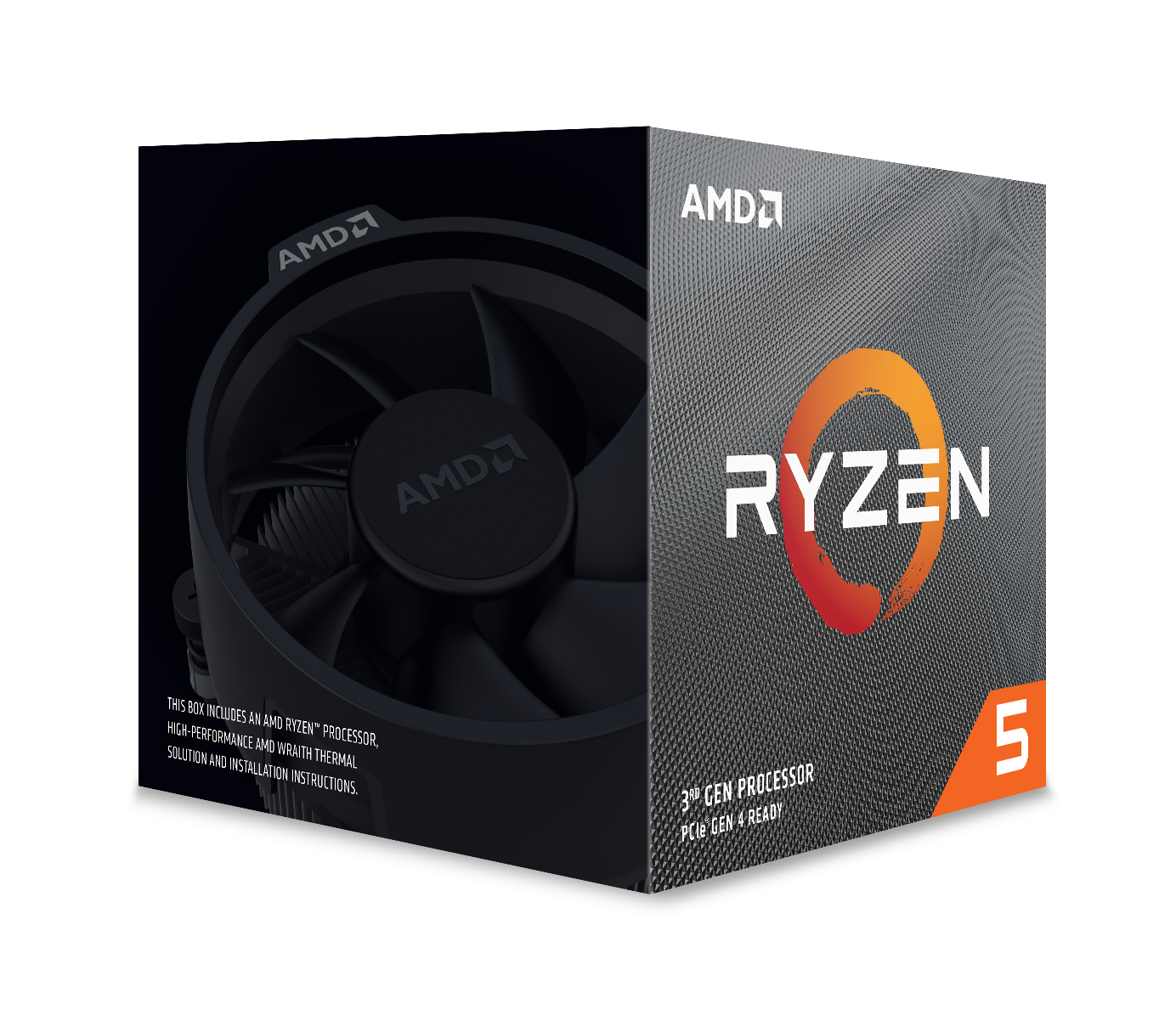 Processeur Ryzen 5 3600 Wraith Stealth Edition AMD