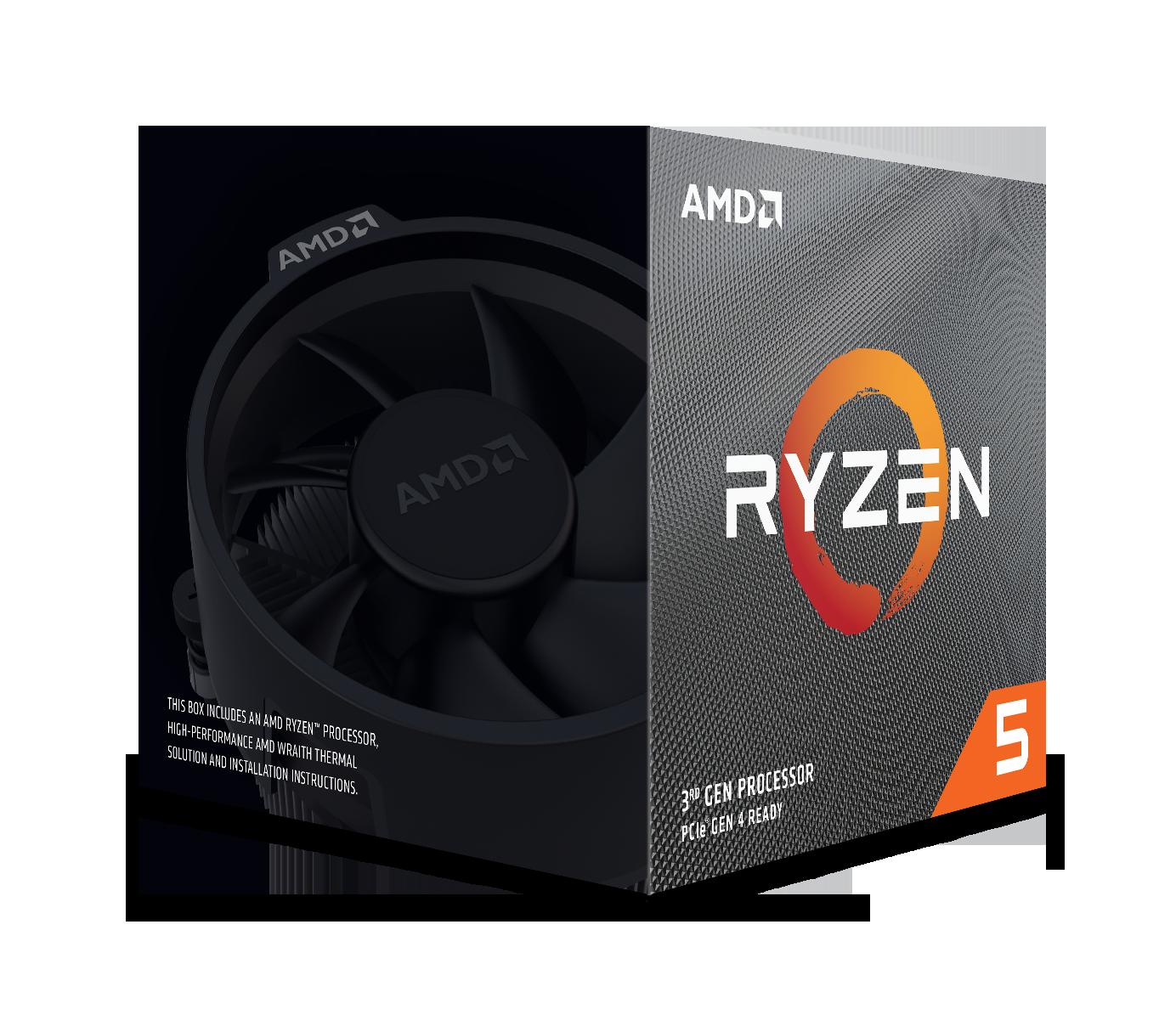 Processeur Ryzen 5 3600X Wraith Spire Edition AMD