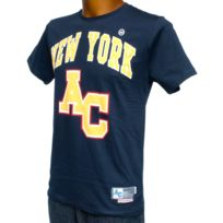 American College - Tee shirt manches courtes New york navy fremont Bleu 46869