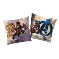 Marque Generique - Coussin réversible enveloppe polyester league age of ultron 40x40cm Avengers