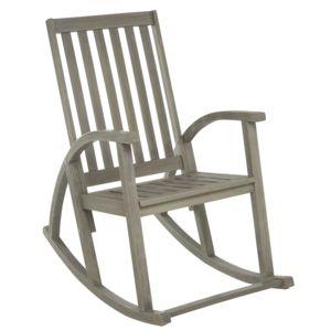 carrefour fauteuil bascule bois gris c rus pas cher achat vente fauteuil de jardin. Black Bedroom Furniture Sets. Home Design Ideas