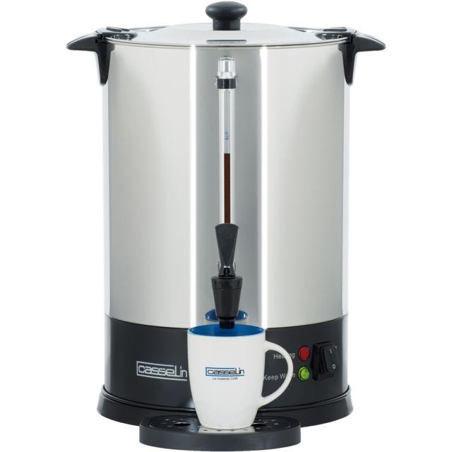 CASSELIN Percolateur à Café 100 Tasses SP Filtre Inox Permanent CPC100S
