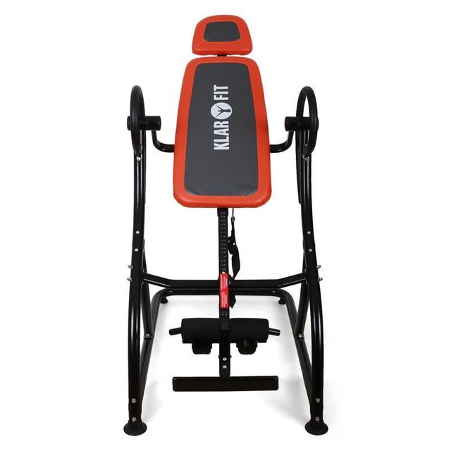 KLARFIT - Relax Zone Pro Table d'inversion pour exercices du dos
