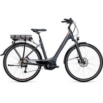 Cube - Vélo Électrique Touring Hybrid Pro 500 Easy Entry Grey´n´flashred 2017 easy Entry 50 Cm