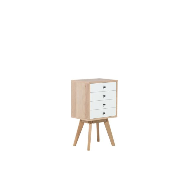 BELIANI Commode blanche PHOENIX - blanc