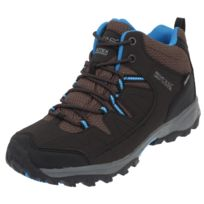 Regatta - Chaussures marche randonnées Holcombe mid isotex jr Gris 45910
