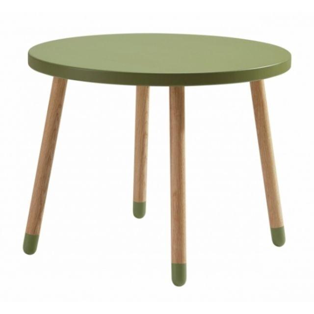 Nordic Factory Table Enfant Flexa Play - Pieds en chêne