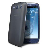 Caseink - Coque Ultra Fine 0.3mm Frost Samsung Galaxy S3 Noire