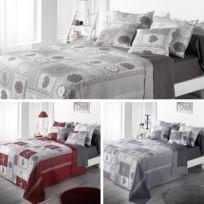 sans marque boutis couvre lit 220 x 240 cm eug - Dessus De Lit Boutis