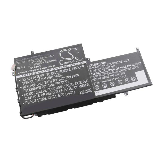5600mah-batteria HP Spectre x360 15 ap011dx 831532-421 Convertible HSTNN-lb7c pg03xl